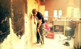10.08.2013 Die Röhre im Umbau