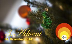 14.12.2014 – Adventssingen mit der Röhre