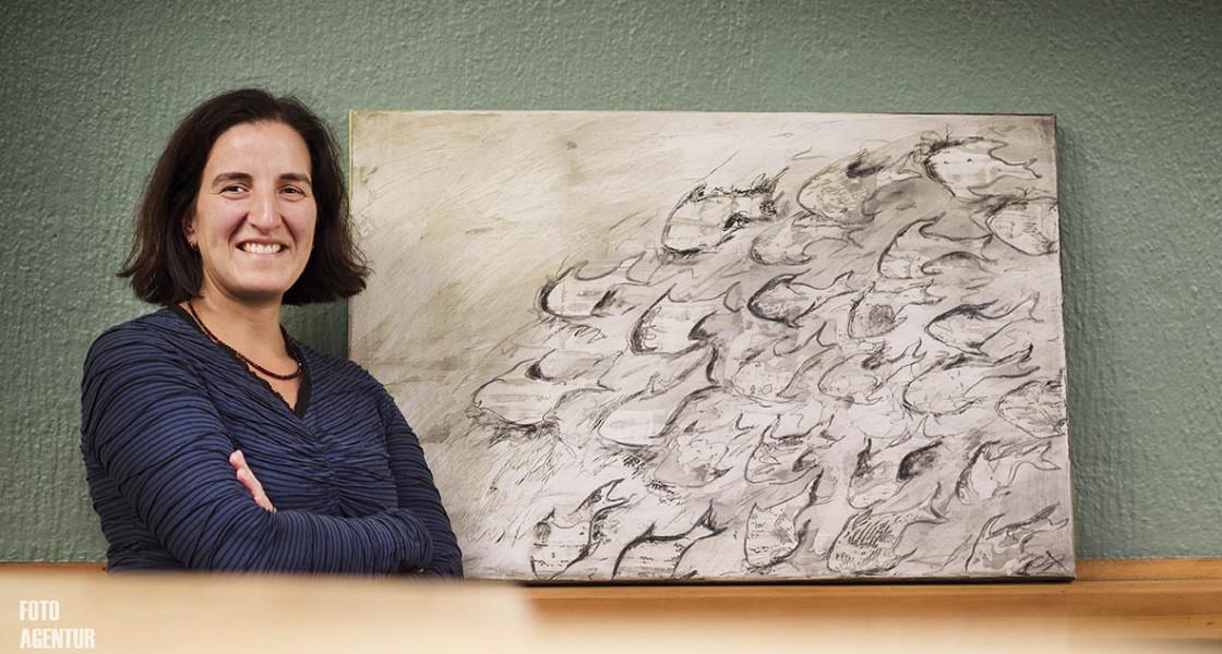 """08.11.2015 – Ausstellung """"Jahre"""" von Iris Alexandra Arndt"""