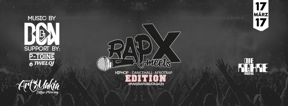 17.03.2017 – Rapmeets Röhre Bottom Edition
