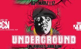 03.03.2017 – Underground Party