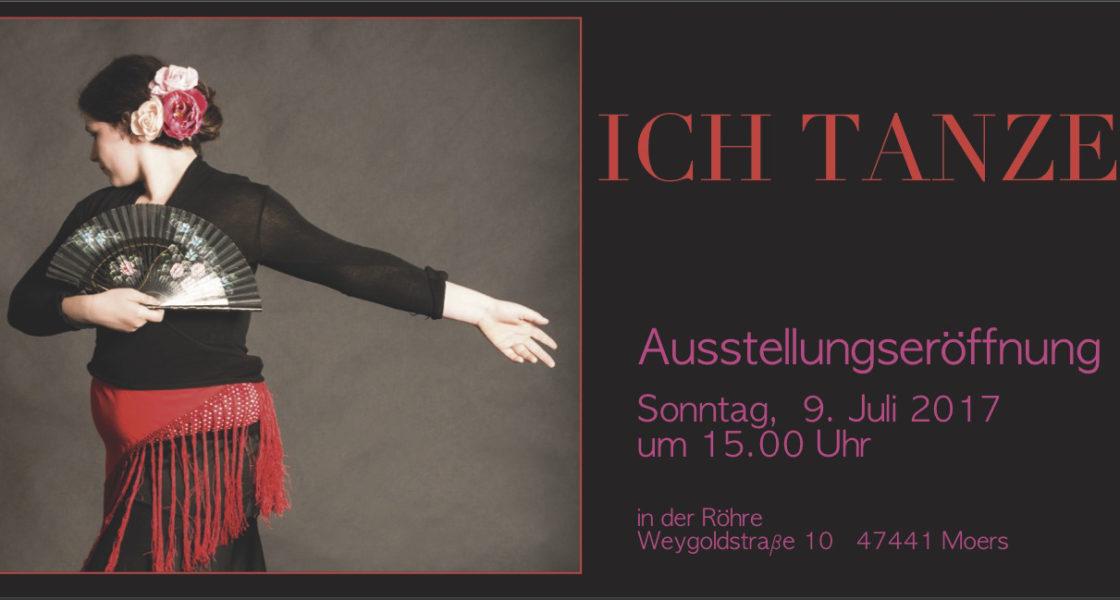 09.07.2017 – Ausstellung – ICH TANZE – Andrea Zmzlak