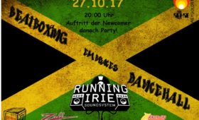 27.10.2017 – Dancehall Party