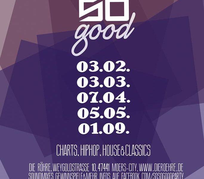 01.09.2018 – So So Good – Party