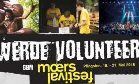 14.03.2018 – Volunteers-Abend – Moers Festival