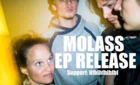 14.04.2018 – Live on Stage – molass EP Release & Hfblhfblhfb