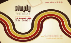 25.08.2018 – simply the beat
