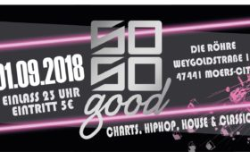 01.09.2018 – So So Good – Party