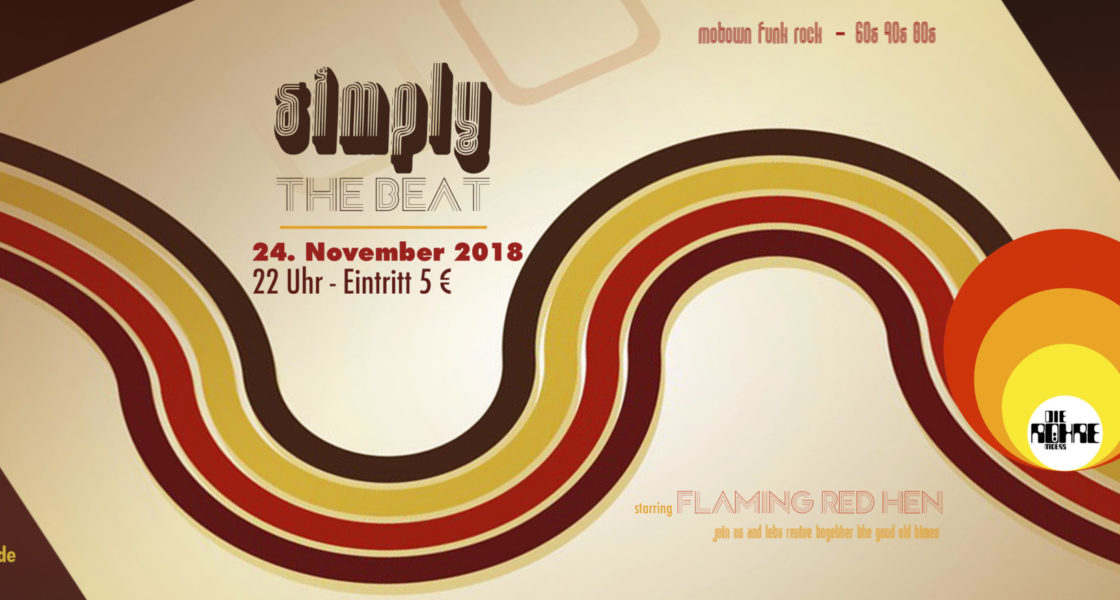 24.11.2018 – simply the beat