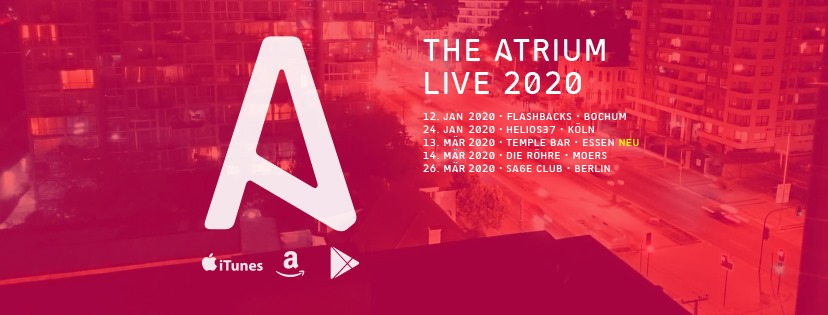 14.03.2020 – live on stage – The Atrium +++ ABGESAGT