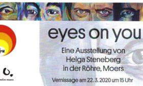 22.03.2020 – k.o. – Ausstellung Helga Steneberg +++ VERSCHOBEN +++ Online-Rundgang